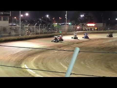 Delta Speedway Turkey Bowl 10/26/18 Jr Sprint Qualifier 1 Cash