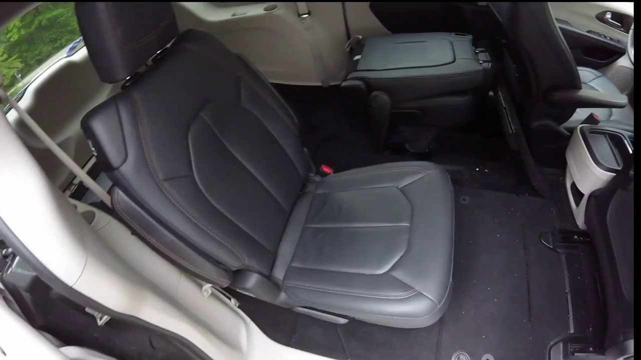 2018 Chrysler Pacifica Stow N Go Seats