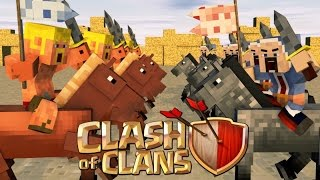 "Minecraft Finale | Clash of Clans Nations - Ep 29! ""THE GREAT SIEGE OF CLASH OF CLANS"""