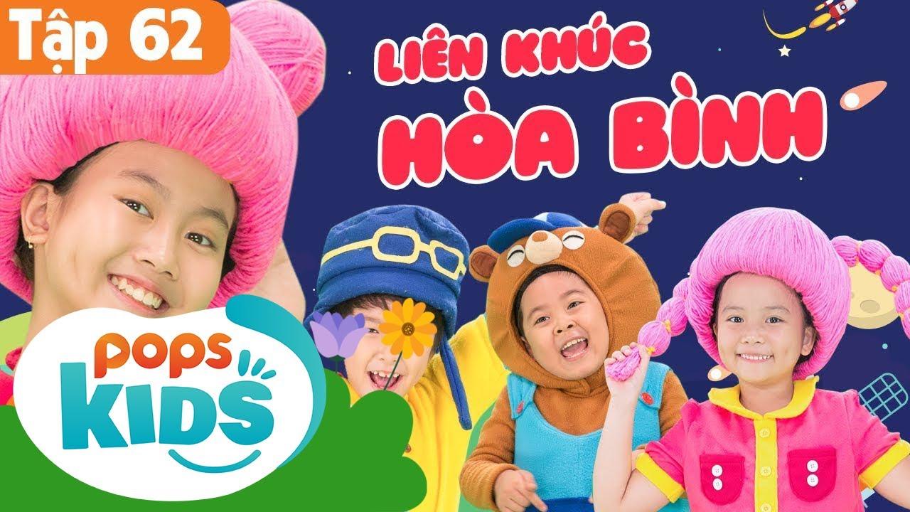 Mầm Chồi Lá Tập 62 - Liên Khúc Hòa Bình | Nhạc Thiếu Nhi Cho Bé | Vietnamese Songs For Kids