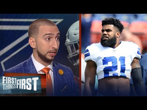 Nick Wright: Ezekiel Elliott deserves to be criticized for his play vs. Broncos | FIRST THINGS FIRST
