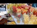 Indian street food Chennai, Fruit Cutting, Amazing Fruit Cutting
