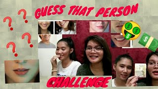 NANALO NG 500 SA GUESS THAT PERSON CHALLENGE???! 🤑😂❓