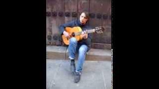 Cantaret din Spania la chitara