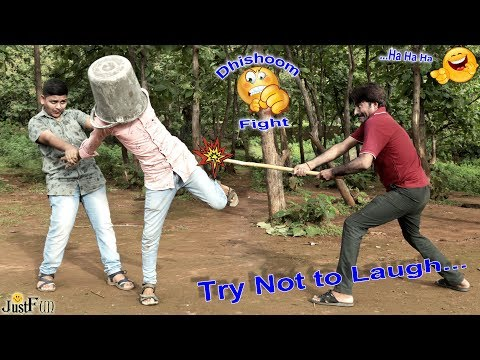 Kick It !!! Unlimited Laughing Challenge   Best Fail By Just Fun   Try Not To Laugh 2019