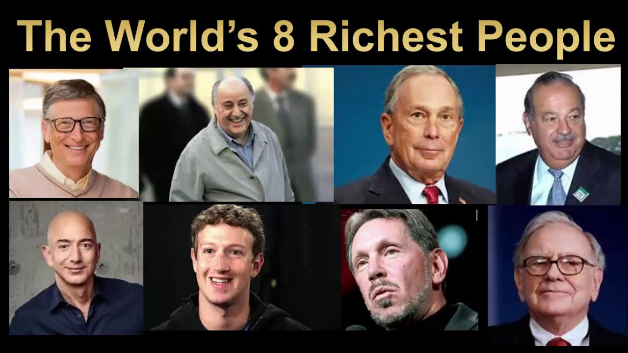 Risultati immagini per wealthy people in the world