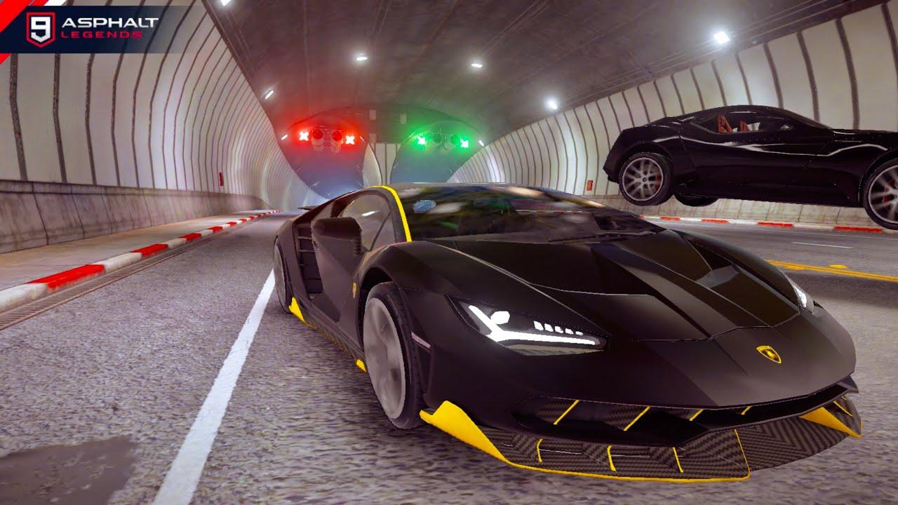 Asphalt 9 Collecting S Class Blueprints With My Lamborghini