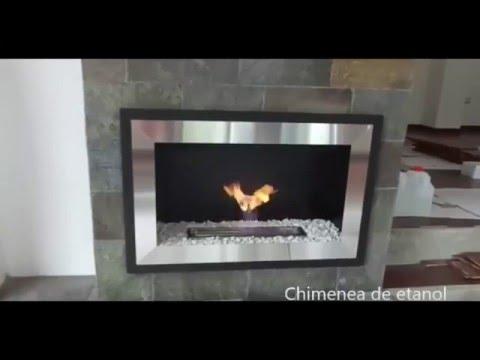 quemador de cm a etanol para chimenea
