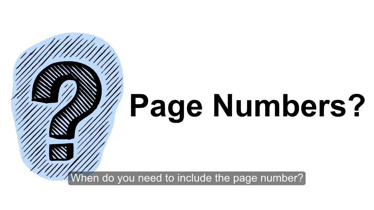 What happens when you don't have a page number for an in-text citation?