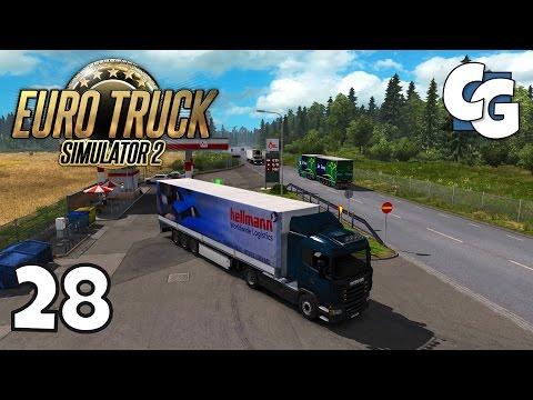 Euro Truck Simulator 2 - Ep. 28 - Trying Graphics Mods (Lautus HD + SweetFX)