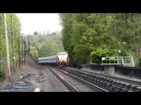 Wassaic Express Train with Rear Horn @ Mt Pleasant (Harlem Line)
