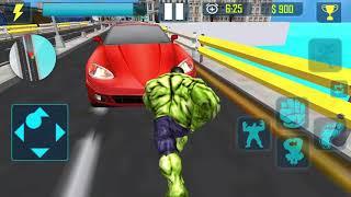 Incredible Monster Big Man Fighting Hero - HULK 11-13 level - Android Gameplay