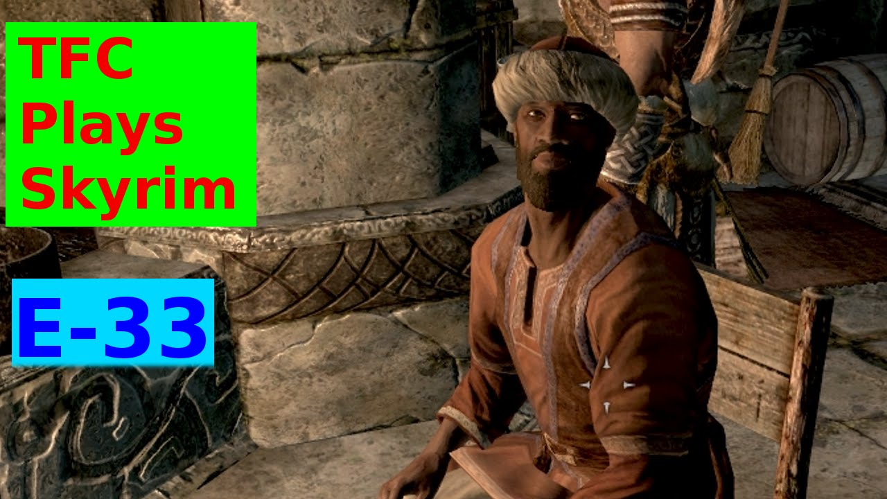 TFC Plays Skyrim ep33 - Silver Mold Of Influence - YouTube