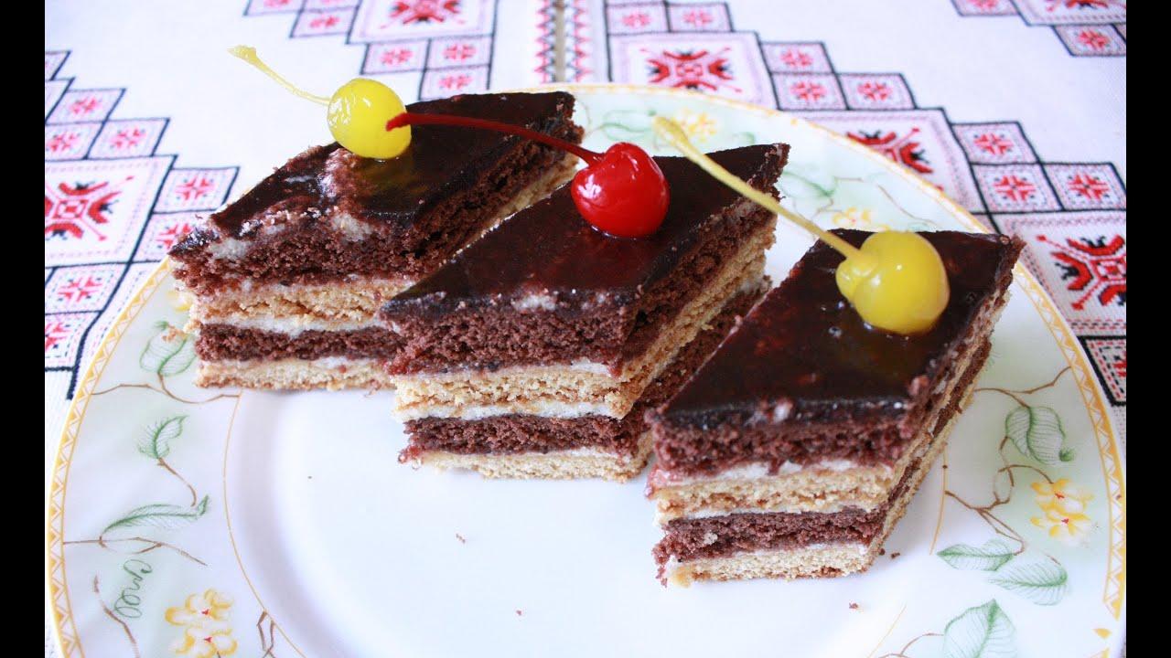 Рецепт торта Стефанка просто и вкусно Как приготовить торт ...