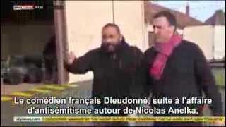 Dieudonné interdit de séjour au Royaume-Uni 03-02-2014