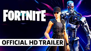 Sarah Conner and the T-800 Arrive in Fortnite Through the Zero Point