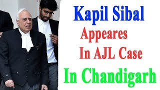 Kapil Sibal /Associate Journal Limited Case In Punjab And Haryana High Court Chandigarh