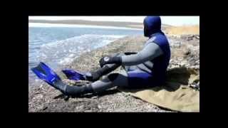 Первая подводная охота в жизни(Смешно).mp4