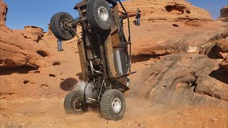 2021 Winter 4x4 Jamboree.  Automotive Carnage on the Maze