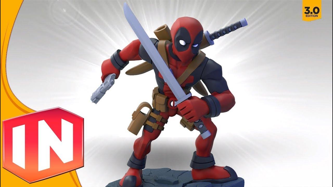 Disney Infinity Deadpool Figure Custom Spotlight Youtube