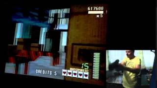 Virtua Cop on Sega Saturn