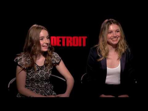 "Hannah Murray, Kaitlyn Dever Interview for ""Detroit"""