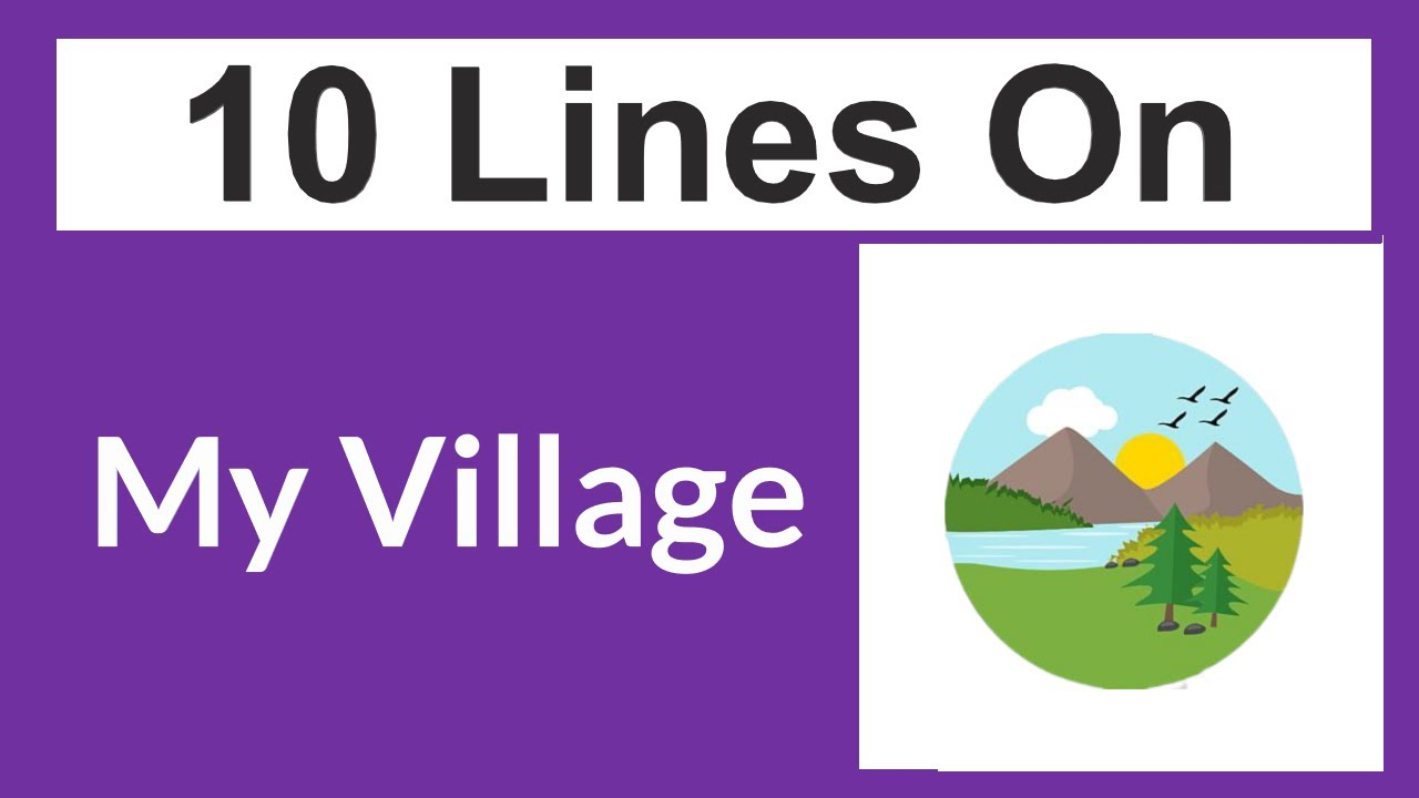 Download My Village Essay in English || 10 Lines on My Village || Short Essay on My Village