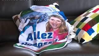JO 2018 : la joie du village d'Anaïs Bescond dans le Jura après sa médaille de bronze