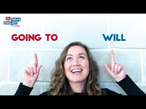 Best English Grammar Lesson - Use Going to & Will for the FUTURE