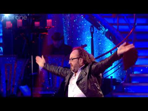 Dave Myers & Karen dance the Paso to 'I Would Do Anything For Love...' - Strictly Come Dancing - BBC