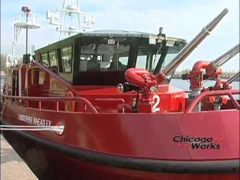 New Chicago Fire Boat