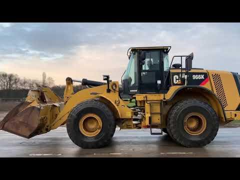 Used heavy machinery Caterpillar 966K  Radlader