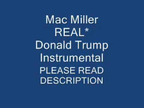 REAL* Mac Miller  Donald Trump Instrumental