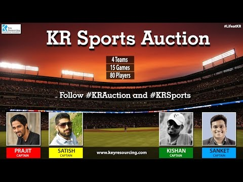 Key Resourcing Sports Auction