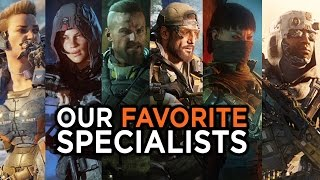 Our Favorite Specialists in Call of Duty: Black Ops III