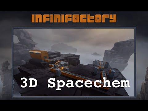 Infinifactory - Spacechem in 3D