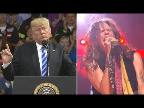 Steven Tyler Orders Trump to Stop Playing Aerosmith Music at His Rallies Mp3