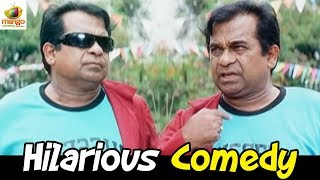 Best Hindi Comedy | Brahmanandam Comedy Scene | Bhai The Lion Film | South Indian Comedy Videos