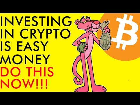 CRYPTO INVESTING IS EASY MONEY!!! DO THIS NOW IN 2020