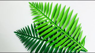Paper Leaves Making | Paper Leaf | Lockdown Fun Activity | Paper Crafts For School | Origami Leaves