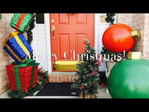 Giant Christmas Ornaments Diy By The Frugalnista Youtube