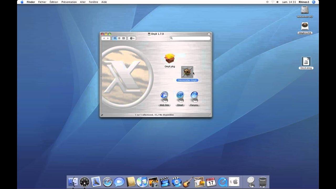 ONYX 10.5.8 TÉLÉCHARGER POUR MAC