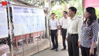 Bí thư Tỉnh ủy Võ Thị Ánh Xuân kiểm tra công tác chuẩn bị bầu cử tại huyện Châu Thành