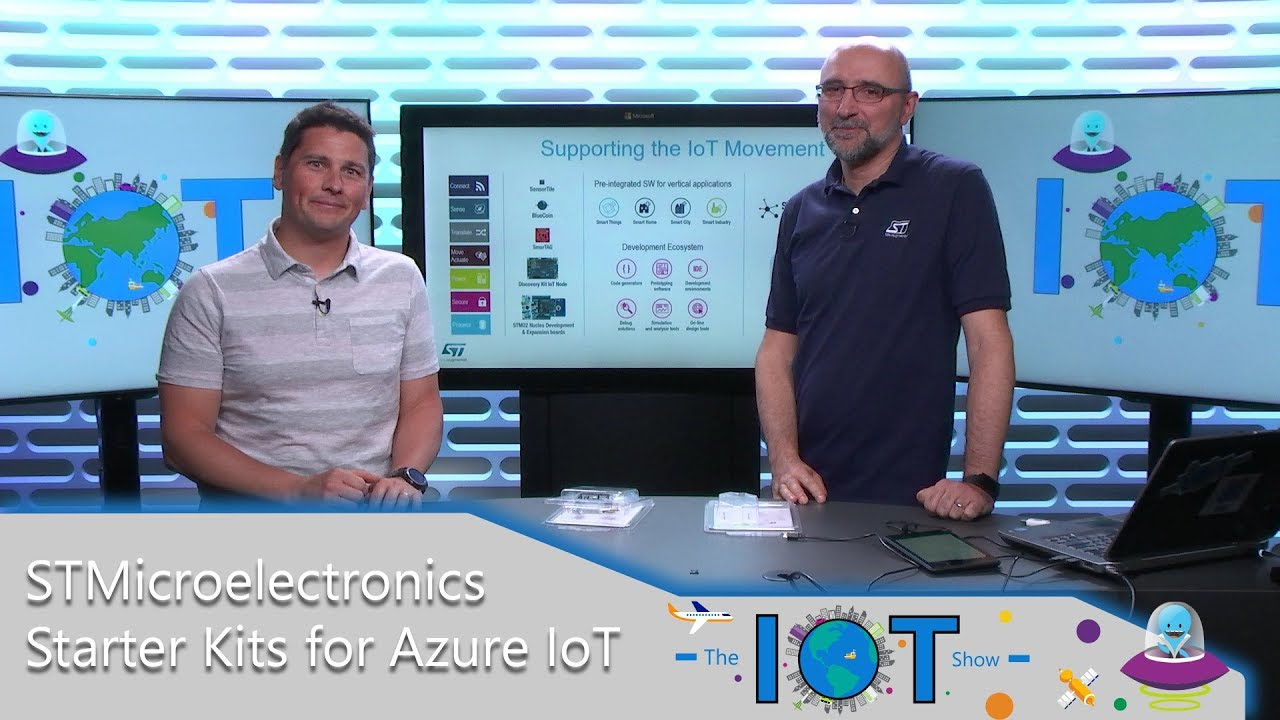STMicroelectronics Starter kits for Azure IoT