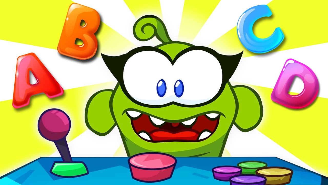 Learn Alphabets In French | Basic French With Om Nom | Videos Educatifs