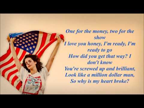 Lana Del Rey - Million Dollar Man (Karaoke With Lyrics)