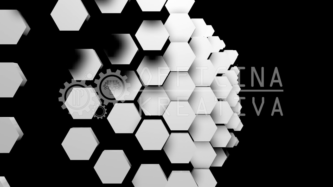 18 HONEYCOMB Vol 3 - 3d VJ LOOP - Video Mapping - background - Transition