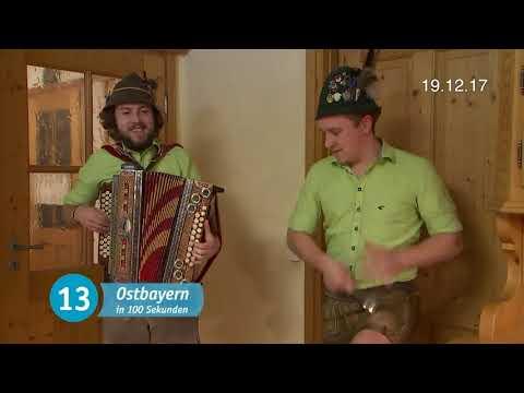 Auer Buam (Gstanzlsänger) in TV-Sendung