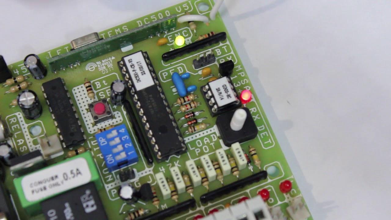 How To Program Enroll A Remote Into A Et Dc 500 Receiver