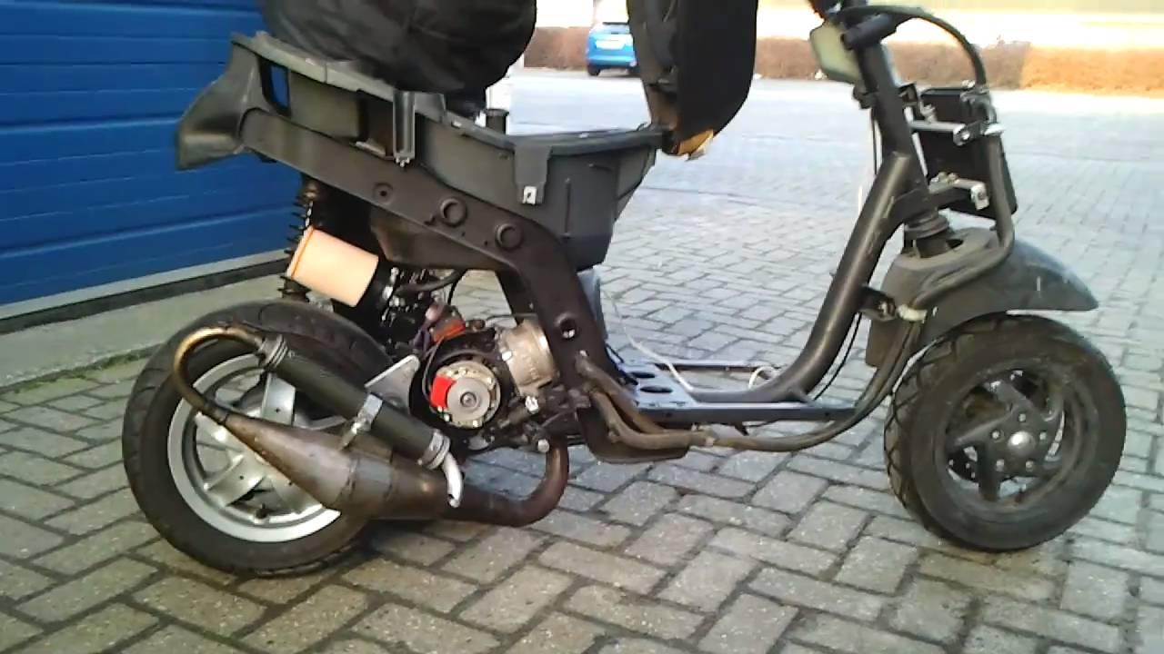 piaggio zip sp 2000 fabrizi racing fht 80cc maxi kit - youtube